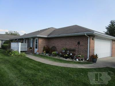 Fairfield IA Condo/Townhouse For Sale: $123,000