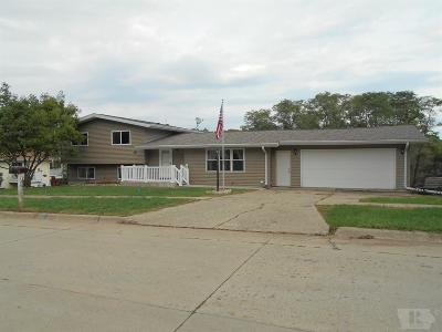 Ottumwa IA Single Family Home For Sale: $189,900