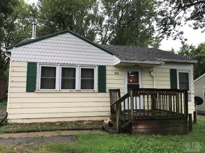 Fairfield IA Single Family Home For Sale: $29,100