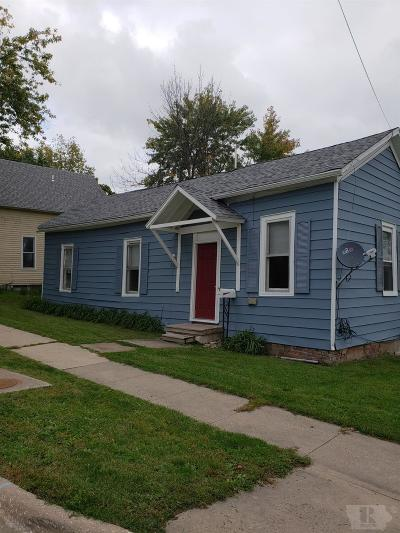 Fairfield IA Single Family Home For Sale: $54,500