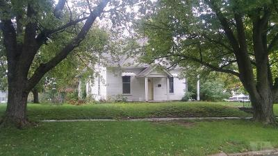 Fairfield IA Single Family Home For Sale: $45,900