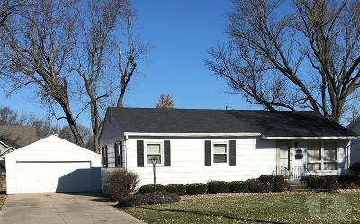 Ottumwa Single Family Home For Sale: 1527 Finley W