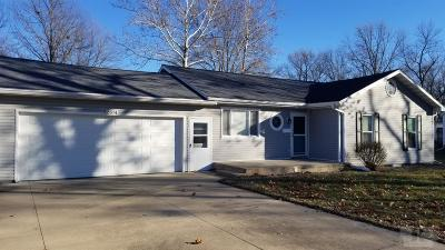 Ottumwa IA Single Family Home For Sale: $129,900