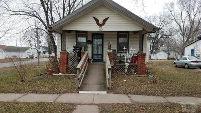 Ottumwa IA Single Family Home For Sale: $45,000
