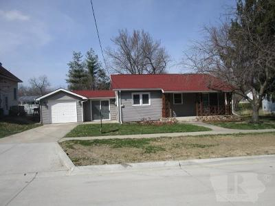 Fairfield IA Single Family Home For Sale: $135,000