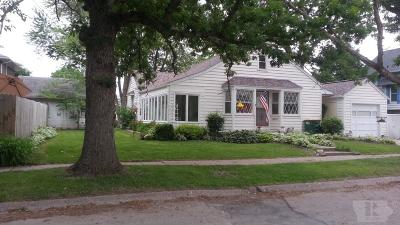 Fairfield IA Single Family Home For Sale: $115,500