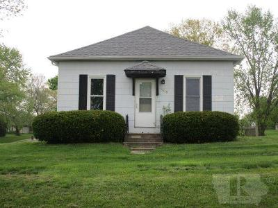 Richland IA Single Family Home For Sale: $75,000