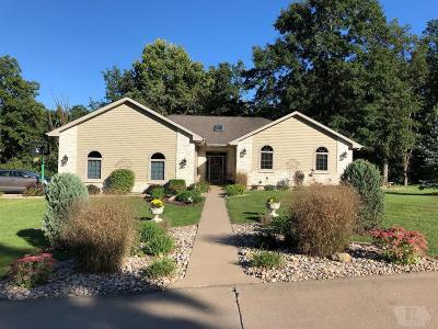Wapello County Single Family Home For Sale: 13 Bear Creek Estates Drive