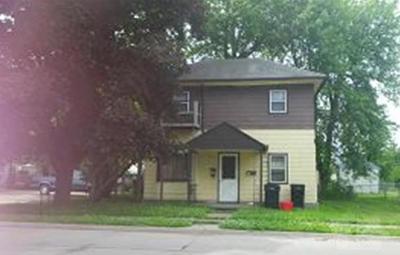 Wapello County Multi Family Home For Sale: 818 E Finley