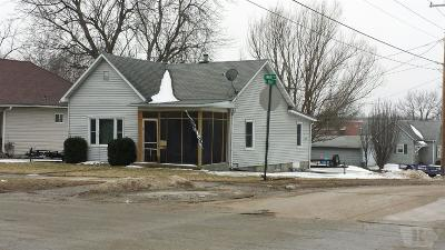 Centerville IA Single Family Home For Sale: $58,000