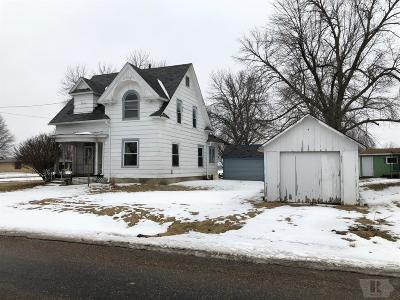 Richland Single Family Home For Sale: 203 S Locust Street
