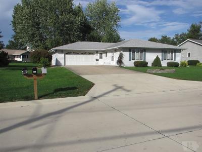 Mount Pleasant Single Family Home For Sale: 407 E Baker