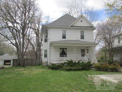 Fairfield IA Single Family Home For Sale: $98,500