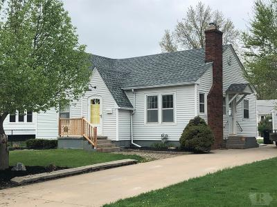 Ottumwa IA Single Family Home For Sale: $95,000