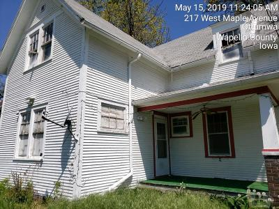 Wapello County Single Family Home For Sale: 217 W Maple
