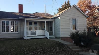 Single Family Home For Sale: 929 N Court Street