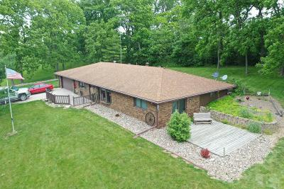 Wapello County Single Family Home For Sale: 14849 Eddyville Road