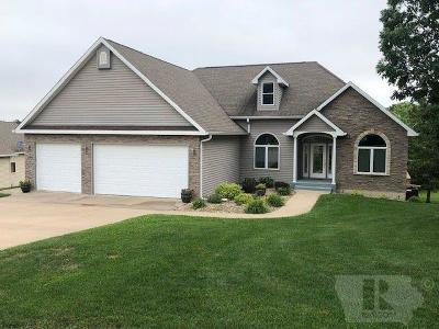 Ottumwa Single Family Home For Sale: 5 Bear Creek Estates Drive