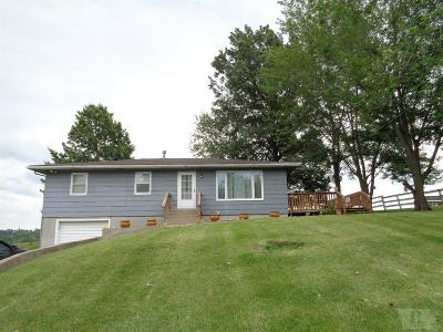 Centerville IA Single Family Home For Sale: $89,000
