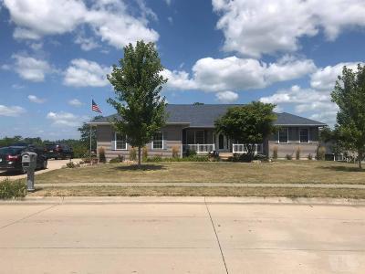 Mount Pleasant Single Family Home For Sale: 807 E Harvest Drive
