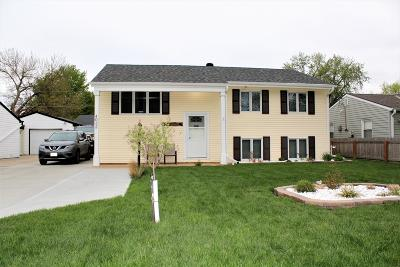 Council Bluffs Single Family Home Pending Contingency: 4032 Rawlins Drive