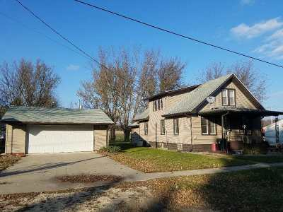 Wadena IA Single Family Home For Sale: $88,900