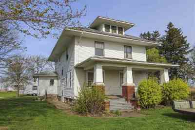 Waterloo Single Family Home For Sale: 8902 Dysart Road