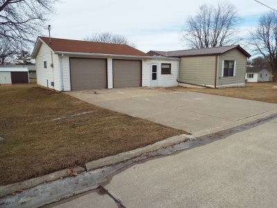 Edgewood IA Single Family Home For Sale: $58,000