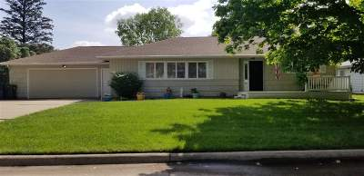 Waterloo Single Family Home For Sale: 1355 South Hill Drive
