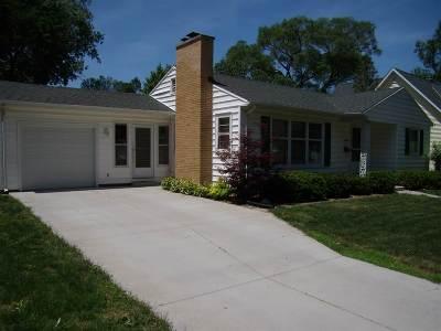 Cedar Falls Single Family Home For Sale: 1509 Franklin