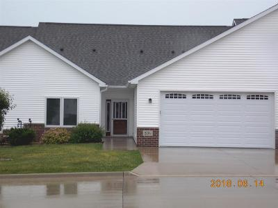 Cedar Falls IA Condo/Townhouse For Sale: $209,900