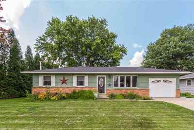 Cedar Falls IA Single Family Home For Sale: $204,900