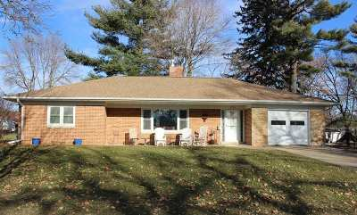 Manchester IA Single Family Home For Sale: $157,000