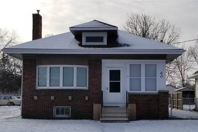 Waterloo Single Family Home For Sale: 60 E Parker Street