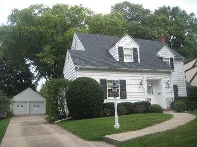 Waterloo Single Family Home For Sale: 825 Euclid Avenue