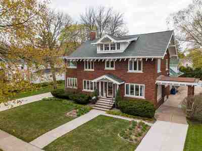 Waterloo Single Family Home For Sale: 270 Sheridan Road