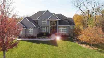 Cedar Falls IA Single Family Home For Sale: $850,000