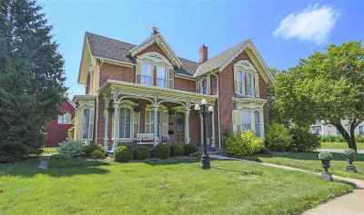 Single Family Home For Sale: 603 Clay Street