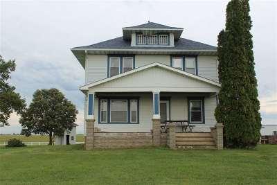 Single Family Home For Sale: 5615 E Dunkerton Road