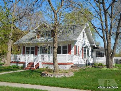 Jefferson Single Family Home For Sale: 606 W State Street