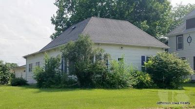 Jefferson Single Family Home For Sale: 205 W Adams Street