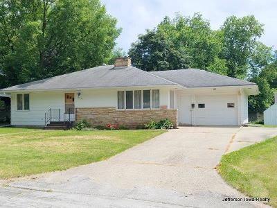 Jefferson Single Family Home For Sale: 203 E Park Street