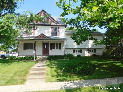 Jefferson Single Family Home For Sale: 105 S Cedar