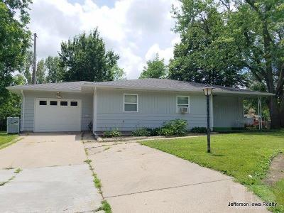Jefferson Single Family Home For Sale: 203 E McKinley Street