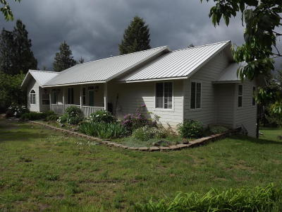 St. Maries Single Family Home For Sale: 39945 S Highway 3