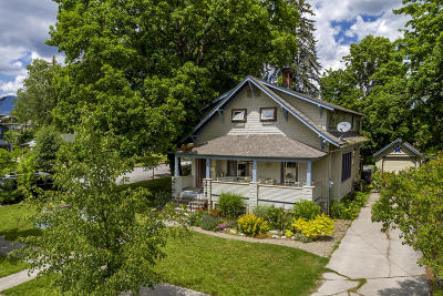 Sandpoint Single Family Home For Sale: 536 Erie