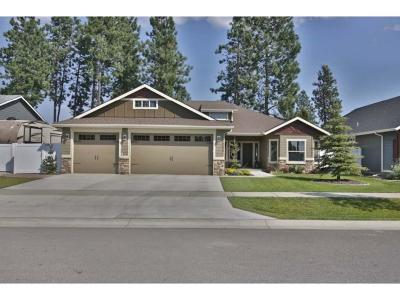 Coeur D'alene Single Family Home For Sale: 6690 N Glensford Dr