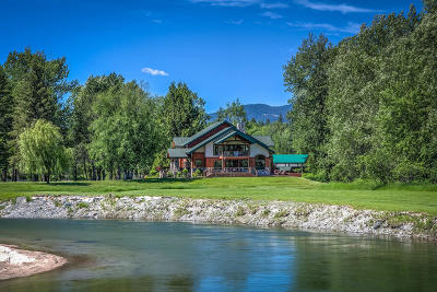 Sandpoint Single Family Home For Sale: 185 Selkirk View Rd