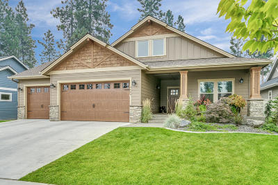 Coeur D'alene Single Family Home For Sale: 2468 W Malraux Dr