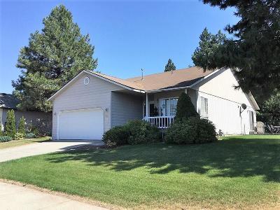 Post Falls Single Family Home For Sale: 2820 N Rawhide Ridge Rd